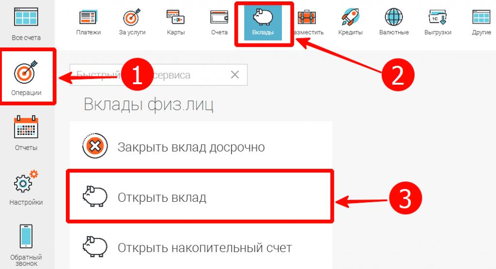 Как выполнить операции через личный кабинет Совкомбанка